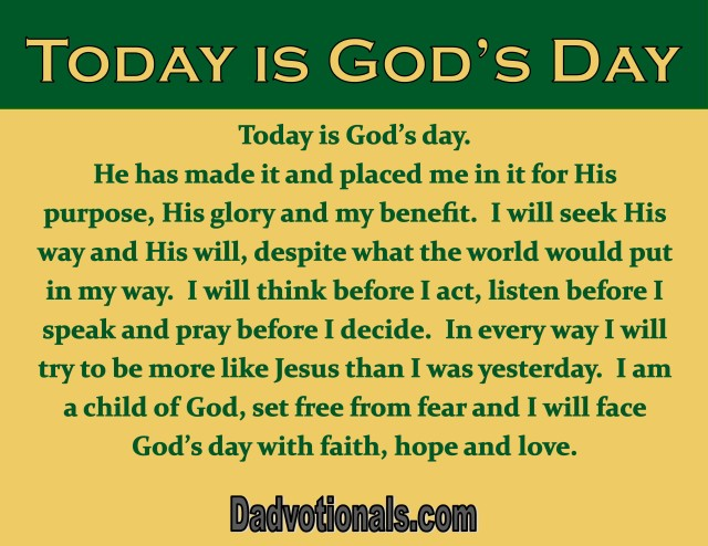 TodayIsGodsDay